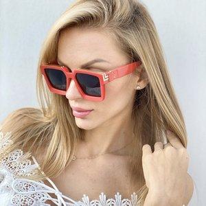 Unisex sunglasses new fashion glasses trendy personality cat eye net celebrity
