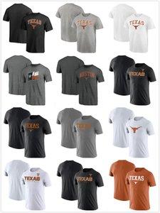 Texas Longhorns T-shirt Cotton cloth Round collar,loose,breathable printing mens