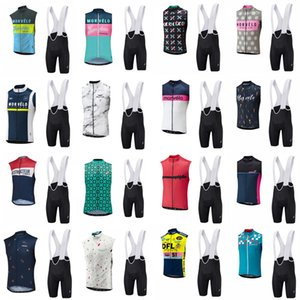 NEW Morvelo Team 2018 Cycling Sleeveless Jersey Sets MTB Bike Clothing Breathable Bicycle Wear Ropa Ciclismo Bicicleta Maillot Suit D0701