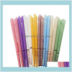 Candles Décor Home & Garden Natural Aromatherapy Bee Wax Auricular Therapy 8 Colors Coning Brain Ear Care Candle Sticks Zc122 Drop Delivery