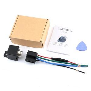 Pcs MV720 Relay GPS Tracker GSM Locator Tracking Remote Control Anti-theft Monitoring Cut Oil Power Mini Smart Car Anti-Lost Alarm