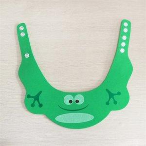 조정 가능한 샴푸 모자 두꺼운 목욕 베이비 귀 보호 물건 만화 유아 안전 욕실 샤워 캡 1 5ZM K2