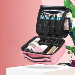 Новый макияж Профессиональная Красота Кисть Женщины Косметический Чемодан Водонепроницаемый Макияж Организатор Путешествия Сумки для Manicure1