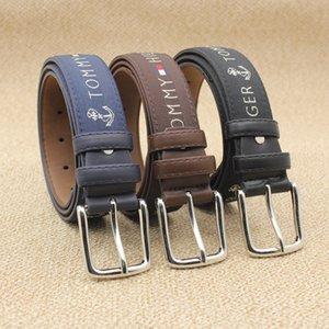 2021 designers belt Fashion Big buckle genuine leather designer men women high quality mens belts top2