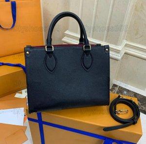 Onthego Mini 25 Tote сумка дизайнер маленькая сумочка женские дизайнеры роскоши ручки скрещивание 2way сумки на плечо 2021 летний градиент на ходу монограммы 25см