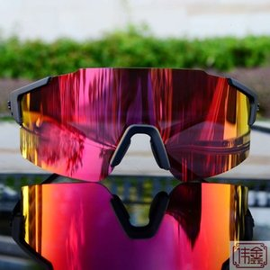 Riding Glasses Myopia Mountain Bike Night Vision Glowing Outdoor Sports Running Marathon Eye Protection Sunglasses