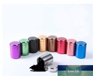 Metal Aluminum Sealed Mini Can Portable Small Travel Sealed Caddy Airtight Smell Proof Container Stash Jar Factory price expert design Quality Latest Style