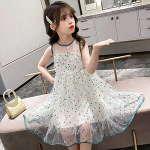 Clothing Summer Children's Girls Clothes Girls Dress 2021 New Little Girl Elegant Dress Kids Casual Princess Dresses 12 Year Old