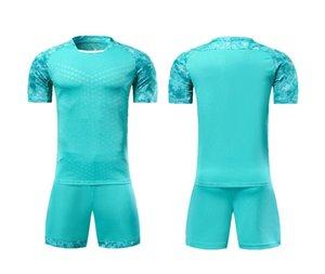New Kid Men Sports maillots de football Training suit Soccer Jerseys Sets kids Futbol Shorts Breathable Customized DIY A0521