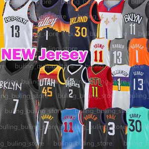 Kevin 7 Durant Devin 1 Booker Jersey 13 Harden Williamson Irving James 2 Leonard Zion Basketball Chris 3 Paul 11 Kyrie Kawhi George Young Stephen Lonzo Curry Treae Ball