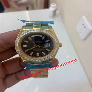 Fashion hot selling automatic machinery men's watch 228349 228238 228235 gold case watches chain 2813 movement 40mm sapphire crystal mirror 18ct Gold, never fade