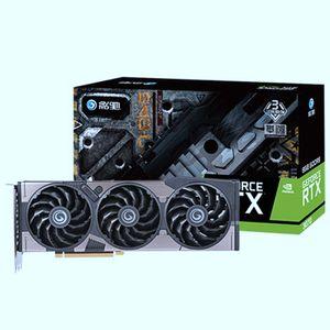 GALAX GEFORCE RTX 3070 8GB Black OC Gaming Graphics-Card مع بطاقات كرتون RTX3070 RTX-3080 بطاقة الفيديو في الأوراق المالية