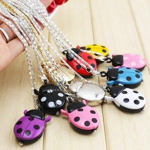 Lovely Beetle Watch Ladybird Key Ring Quartz Student Pocket Multi Color Choice