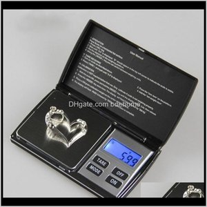 Tools & Equipment Drop Delivery 2021 High Auracy Mini Lcd Electronic Digital Pocket Jewelry Gold Diamond Weighting Scale Gram Weight Scales 1