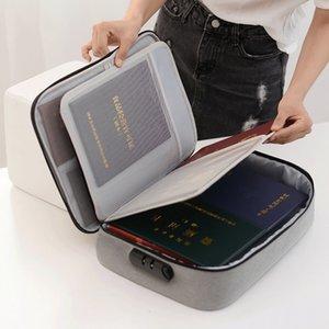 Neue große Kapazität ID-Aufbewahrungstasche Multifunktions-ID-Tasche mit Schloss-ID-Tasche Kind und Mutter einteilig