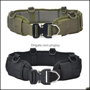 Waist Safety Athletic As Sports & Outdoorswaist Support Outdoor Cs Hunting Paintball Padded Belt Military Tactical Men Molle Battle Army Com