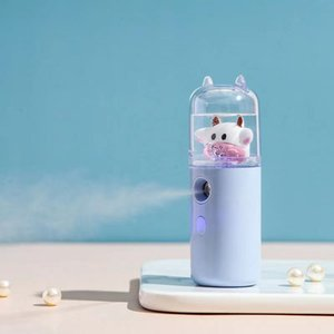Cartoon cute pet air humidifier, USB air purifier, air freshener, LED aroma diffuser, for household automatic mini car humidifier
