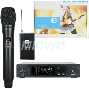 Pro QLXD4 Digital Wireless Headset Lavalier Handheld Microphone System For KTV Karaoke Stage Performance High Quality Microphones