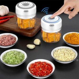 Чеснок Masher Press Tool USB беспроводной электрический Mincer овощной Chili мясорубка для еды еда дробилка чомпер кухонные аксессуары BWD5777