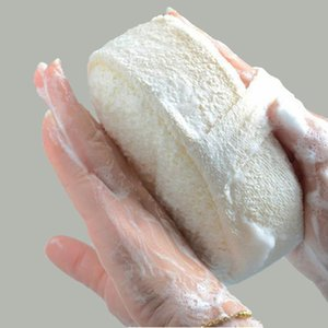 Natural Loofah Sponge Bath Ball Shower Rub Baths Shower Wash Body Pot Sponges Scrubber Durable Healthy Massage Brush
