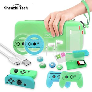 Ingredients 26 in 1 switch accessories, with transport box, handle, flywheel shielding