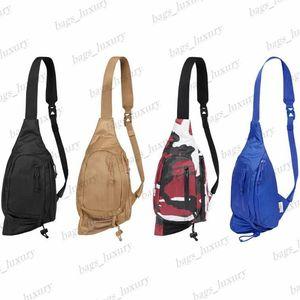 Multi-pocket Chest Bag for Men Women Single Shoulder Backpacks High Quality Messenger Crossbody Bags Hip Hop Streetwear Adjustable Belt