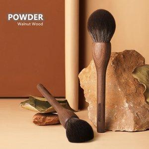 CHICHODO Large Powder Makeup Brush WLN00 100% Original Walnut Wood Ultra-Soft Bristle Round Powder Bronzer Cosmetic Beauty Tools