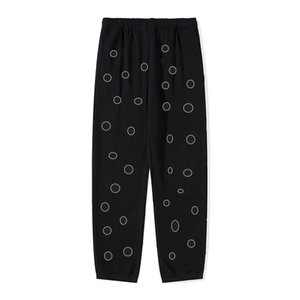 21SS A&W Mens Casual Pants Loose Zip Decorative Tether Trousers Outdoor Running Warm Wear Various Styles and Patterns