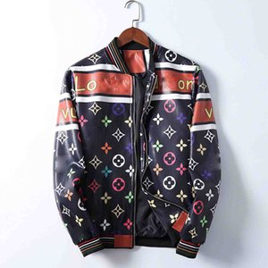 20ss Winter Italian Design Men's Street Chaqueta de cuero de moda ropa exterior