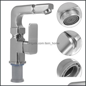 Bathroom Faucets, Showers As Home & Gardethroom Sink Faucets 1Pc Rotatable Splash-Proof Kitchen And Cold Drop Delivery 2021 Jw5Ci