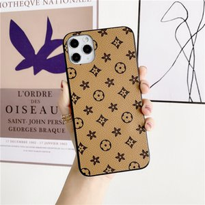 Fashion Brand Designer phone cases for iphone 12 Pro max 11 xs mini xr 8plus 7plus Leather case NOTE 8 9 fastshipping