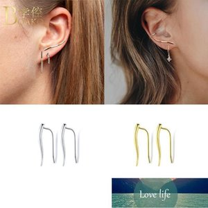 Stud BOAKO Earrings 925 Sterling Silver Earring For Women Piercing Pendientes Brincos Aretes Fine Jewelry Party Gifts Factory price expert design Quality Latest