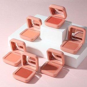 Blush Face Blusher Single Color Natural Silky And Light Long Lasting Brighten Skin Facial Makeup