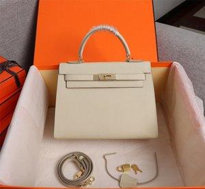 Designer Mulheres Tote Fashion Bags 25 cm 28 cm Genuíno couro bolsa de ombro senhora bolsa de alta qualidade fotos reais de alta qualidade