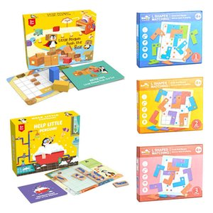 Wooden Turning Square Sokoban Crate Game Push Boxes Flipping Toy Educational Puzzle for Kids Brain Teaser Montessori Toys