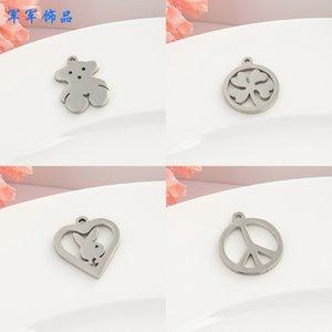 Vente chaude SIYECAO Bijoux en acier inoxydable Simple Fashion Bracelet Bracelet Connexion Accessoires Pendentif