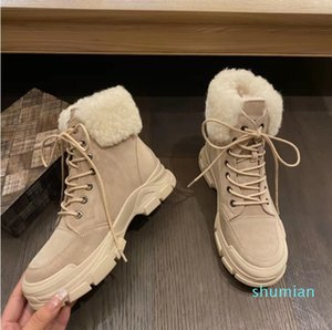 Top winter wool shoes women's boots suede men's classic shoes new collection strap Casual warm Mini boots luxury maroon 36-41 Nobox