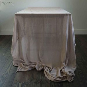 Home Decore Party Table Cloth 32 Colours Cotton Gauze Fabric Wedding Decor Banners 52 Inch Width Custom Runners Napkin