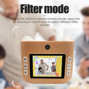 Camera With Instant Print Photos Camera Kids Toys Boy Girl Cute Christmas Gift 1080P Video Digital
