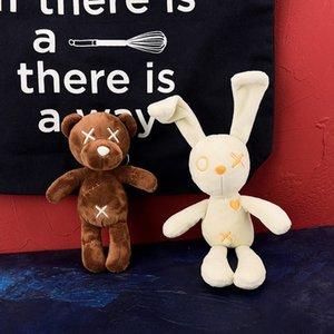 Bear lovers schoolbag key pendant Plush Doll home decoration pillow