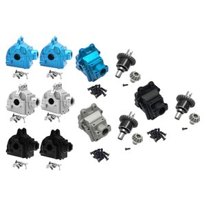 RC Metal Upper Lower Housing Differential Gear for WLTOYS 144001 1 14 RC Car Buggy Upgrade Parts 210322