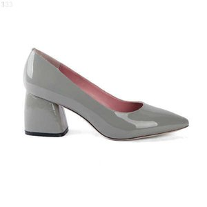 SOPHITINA Spring Women Pumps Comfortable Genuine Leather Pointed Toe Square Heel Shoes Shallow Elegant Office W16 210610 4DA9VP4E