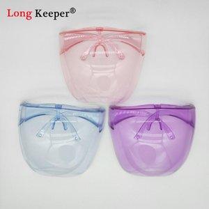Girl Boys Faceshield Gafas protectoras Gafas Safety Blocs Blocs Anti-Spray Máscara Gafas Gafas Para Niños Gafas De Sol