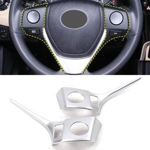 Autozubehör Lenkradplatte Button Trim Aufkleber Abdeckung Rahmen Innendekoration für Toyota Corolla E170