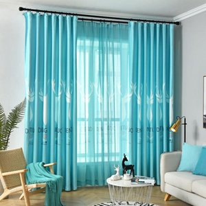 Curtain & Drapes Style Blackout Curtains For Bedroom Living Room Fashion Design Window Custom Made