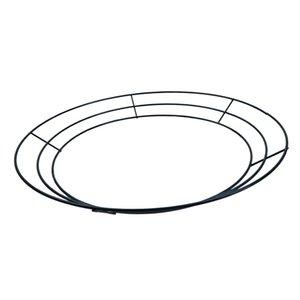 4 шт. Форма рамы рамы металлической проволоки в форме круглого в форме металла, 35 см / 14 дюймов Y0314