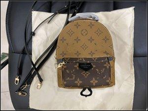 "women men bags BACKPACKS Travel Backpack Mini School Bag Double Shoulder BagsVitton School Bag PALM SPRINGS LV""LOUIS""VITTON VUTTON"