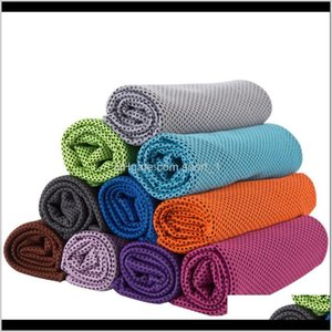 Ice Cold Towel Cooling Summer Sunstroke Sports Exercise Cool Quick Dry Soft Breathable Cooling Towel 10Colors Rra1451 Aimrb 5Unrs