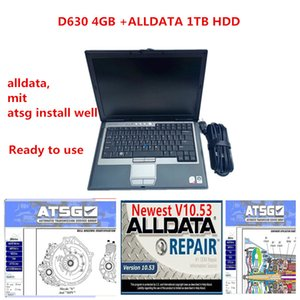 Alldata v10.53+mit+atsg 3in 1TB HDD+Laptop D630 Auto repair soft-ware Alldata