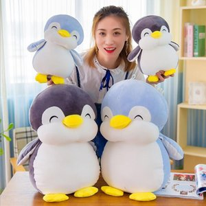 Fat penguin doll cute soft down cotton plush toy ductile sleep pillow children's toys boy and girl birthday gift Bed sofa decoration